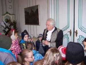 návštěva na zámku v Náměšti na Hané-Velikonoce